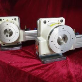 数控分度盘厂家HSD-250DT精密气动旋转分度盘