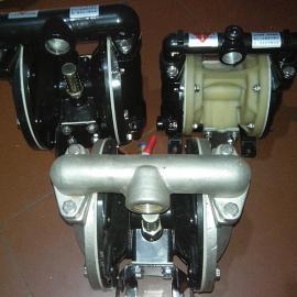 山西隔膜泵QBY-15铝合金巧克力气动隔膜泵