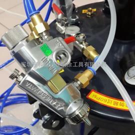 日本岩田WA-101 WA-200配气动搅拌机压力桶