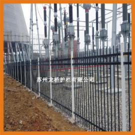 陇南喷塑锌钢围墙栅栏/静电喷涂钢管围墙护栏/龙桥厂家直销