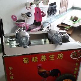 自动双锅奇味养生鸡设备