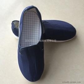 防静电pu帆布实面鞋 无尘鞋帆布工作鞋