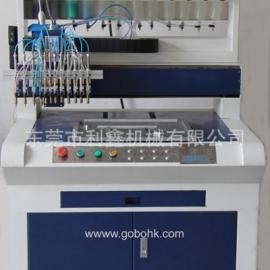 PVC钥匙扣生产设备,PVC钥匙扣滴塑生产流水线