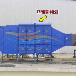 定型机余热回收废气净化装置