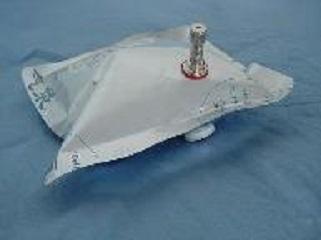 金属接头型采样袋_铝箔采样袋_铝箔采气袋_铝箔集气袋