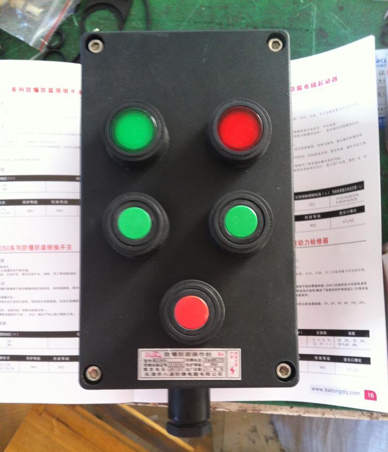 防爆防腐立杆箱BZC8050-A2D2G