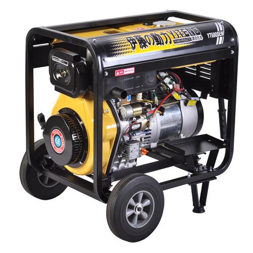 柴油发电电焊两用机YT6800EW