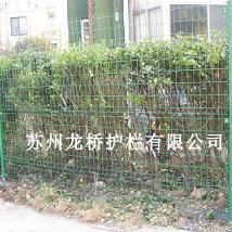启东基坑临时护栏 启东临时建筑围栏网 绿色低价铁丝网