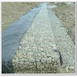 铜陵河道六角石笼网厂家 装石头高锌245g石笼网网箱价格低