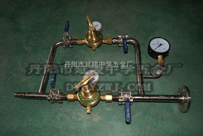 山东客户定做的简易气体汇流排