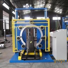 夹布耐油胶管包装机 省时省力省包装材料提高产品档次