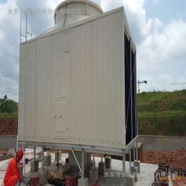 横流方形冷却水塔,200T横流方形冷却水塔,工业方形冷却塔