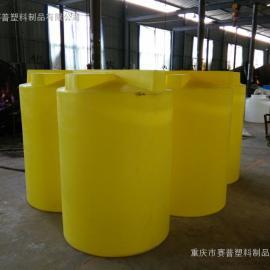 重庆1000L加药桶 1000L加药设备 哪里有加药桶厂家