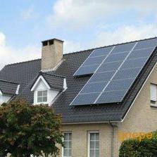河南家用太阳能分布式光伏发电并网系统-2KW 太阳能发电站