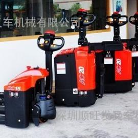 深圳全电动搬运车2吨2.5吨3吨地牛全电动?#20449;?#25644;运车