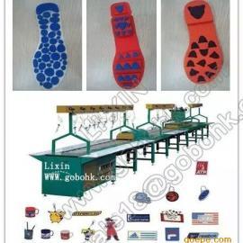 PVC鞋底设备,PVC鞋底流水线设备