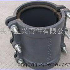 鼎泉牌球墨铸铁用于管道抢修直管补漏器泊头三兴管件