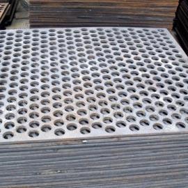 供应江西桥梁钢板网  脚踏板用钢板网  冲孔网