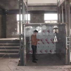 供应淄博电动升降机、淄博导轨链条式升降机。