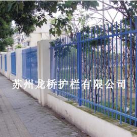 上海围墙 围栏 栅栏 护栏 镀锌钢管表面烤漆处理