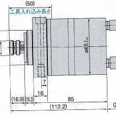 NAKANISHI(NSK)日本中西AMXF-6510BH主轴