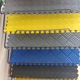 高分子塑胶拼接地砖,防滑隔热,绝缘易清理地面新材