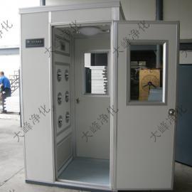 FLS-1D单人单侧加顶 吹彩钢板风淋室