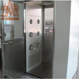 北京中建北方专业制造智能语音不锈钢风淋室