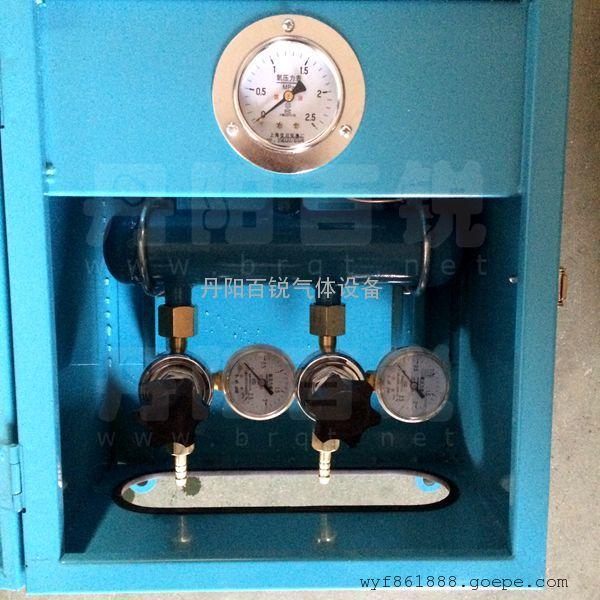 氧气终端箱/氧气配气箱/氧气接头箱