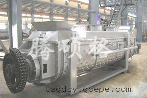 电镀下水污泥专用干燥机、桨叶干燥设备-常州腾硕格设计生产