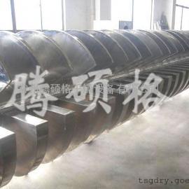 蒸汽污泥烘干机、实用的污泥桨叶干燥设备―常州腾硕格生产