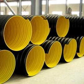 Hdpe钢带波纹管生产厂家|hdpe钢带管型号规格
