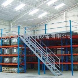 阁楼式平台货架,南京新标特仓储设备有限公司