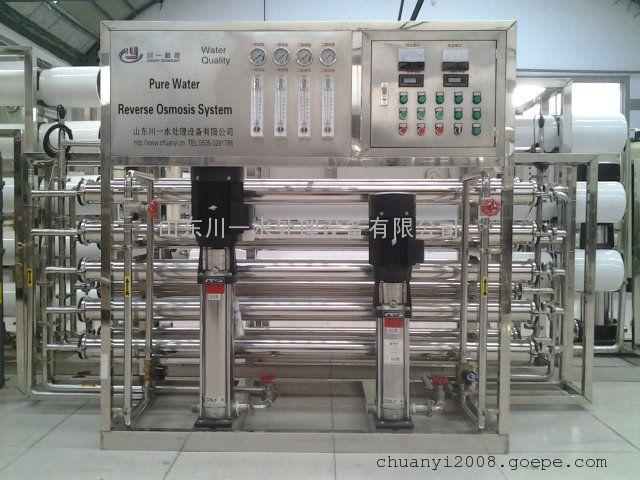 青岛啤酒,专用纯水设备,反渗透设备,二级反渗透。