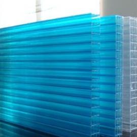 烟台阳光板 湖蓝色阳光板车棚