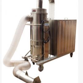 大风量防爆吸尘器DF400 4KW防静电防爆车间有