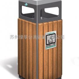 吴江七都木条果皮箱/吴江垃圾桶/吴江七都木条垃圾桶