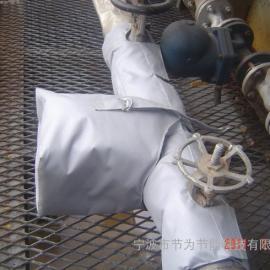 可快速拆卸重复利用阀门保温套衣 阀门可拆卸保温套 管道保温被