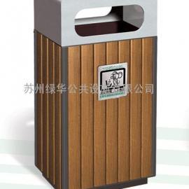 吴江盛泽户外垃圾桶/吴江木条垃圾桶/吴江盛泽环保垃圾桶