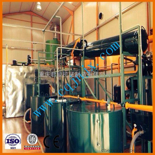 废机油旧润滑油再生蒸馏成基础油设备