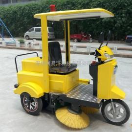 电动保洁三轮车环卫车垃圾车清运车学校小区物业快速保洁车