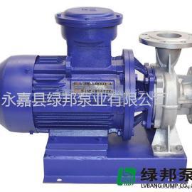 ISWH�P式管道化工�x心泵