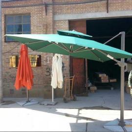 供应AMT新款户外大遮阳伞 进口色织布色牢度可两年不褪色