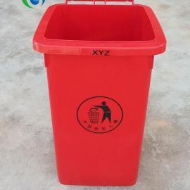 XYZ-100A-红、户外垃圾桶系列