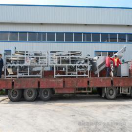 CT系列三网浓缩脱水机 洗砂污水处理设备 洗沙污泥处理设备