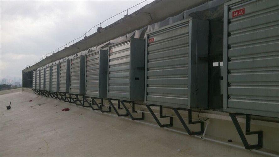 广西柳州钢结构厂房降温排热负压风机 xf型水冷空调