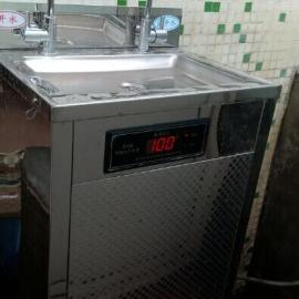 小型工厂不锈钢直饮水机 华泉HQ-2带净化不锈钢饮水机