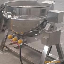 麻辣猪肉铺蒸煮锅 泡椒小鱼不锈钢卤煮锅 电加热夹层锅