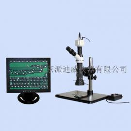 视频显微镜 单筒视频 单目视频同时使用 可接任意摄像头