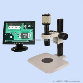 单筒视频显微镜 显微镜 超低价格 物镜可任意更换 可齐焦功能